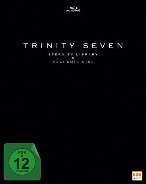 Trinity Seven - Eternity Library and Alchemie Girl - The Movie (Blu-ray)