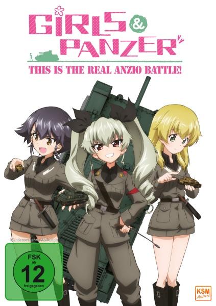 Girls und Panzer - This is the Real Anzio Battle! (OVA) (DVD)