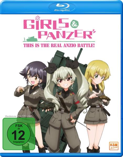 Girls und Panzer - This is the Real Anzio Battle! (OVA) (Blu-ray)