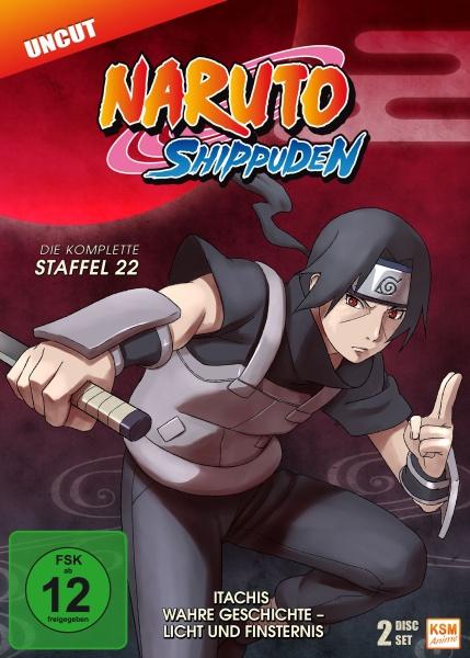 Naruto Shippuden - Itachis wahre Geschichte - Licht und Finsternis - Staffel 22: Episode 671-678 (3 DVDs)