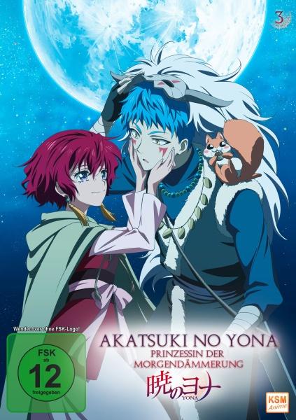 Akatsuki no Yona - Prinzessin der Morgendämmerung - Volume 3: Episode 11-15 (DVD)