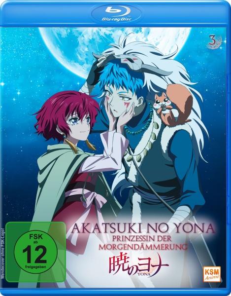 Akatsuki no Yona - Prinzessin der Morgendämmerung - Volume 3: Episode 11-15 (Blu-ray)