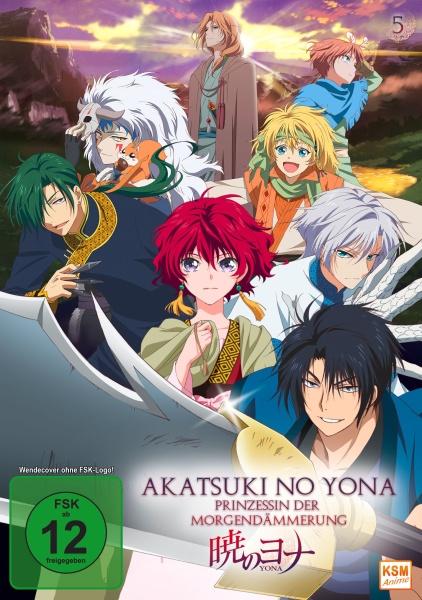 Akatsuki no Yona - Prinzessin der Morgendämmerung -  Volume 5: Episode 21-24 (DVD)