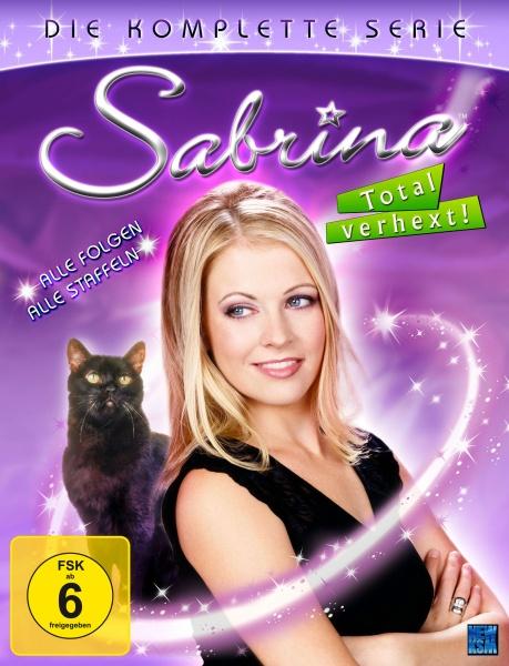 Sabrina - Total verhext! - Gesamtedition Staffel 1-7 (31 DVDs)