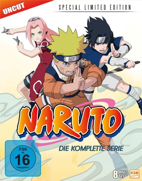 Naruto - Special Limited Edition - Gesamtedition (8 Blu-rays)