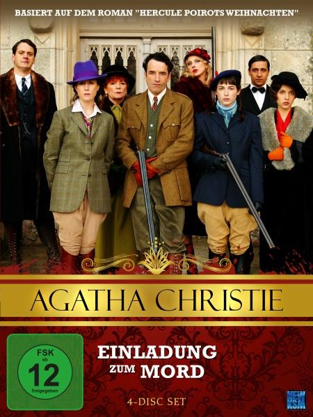 Agatha Christie - Einladung zum Mord (4 DVDs)