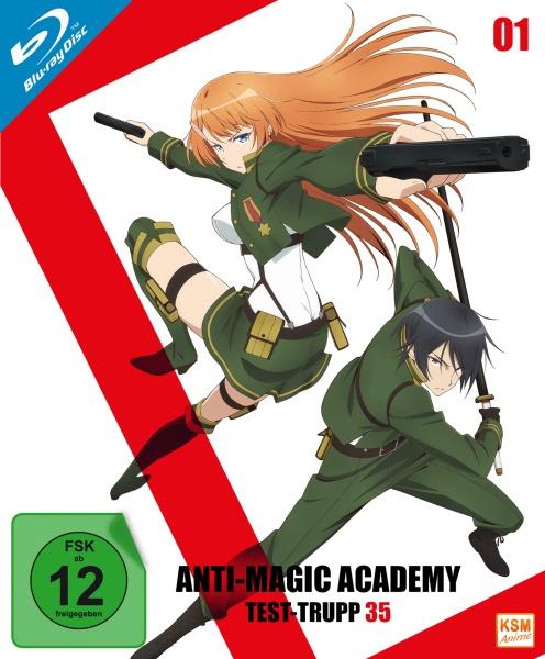 Anti Magic Academy - Test-Trupp 35 - Volume 1: Episode 01-04 (Blu-ray)