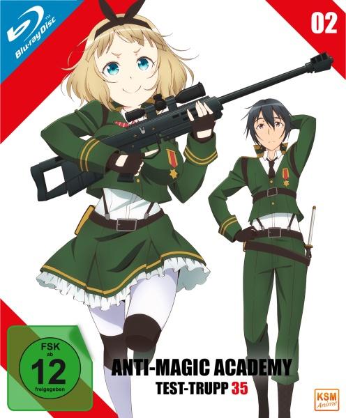 Anti-Magic Academy - Test-Trupp 35 - Volume 2: Episode 05-08 (Blu-ray)