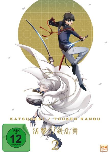 Katsugeki Touken Ranbu - Volume 2: Episode 05-08 (DVD)