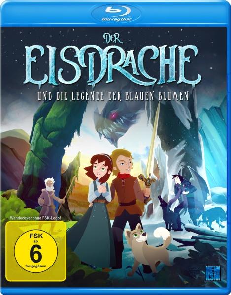 Der Eisdrache und die Legende der blauen Blumen (Blu-ray)