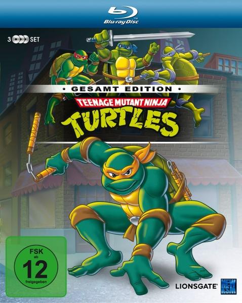 Teenage Mutant Ninja Turtles - Gesamtedition: Episode 01-169 (3 Blu-rays)