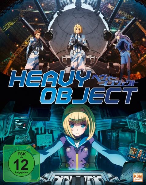 Heavy Object - Gesamtedition: Episode 01-24 (4 Blu-rays)