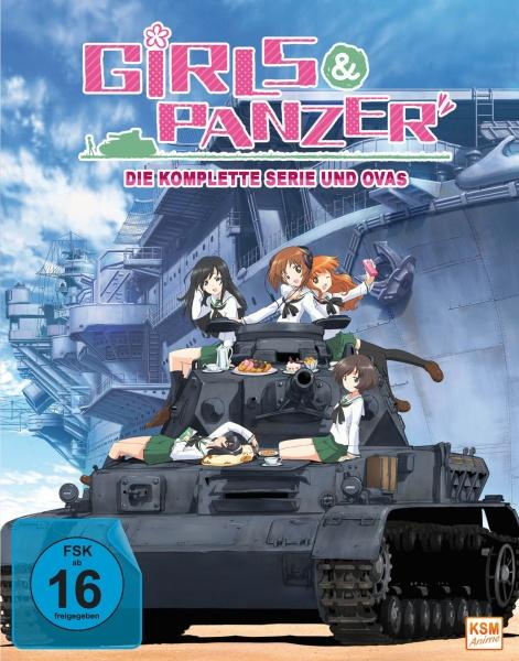 Girls und Panzer - Gesamtedition (4 Blu-rays)