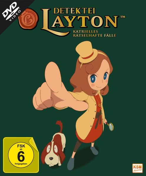 Detektei Layton - Katrielles rätselhafte Fälle - Volume 1: Episode 01-10 (Sammelschuber) (2 DVDs)