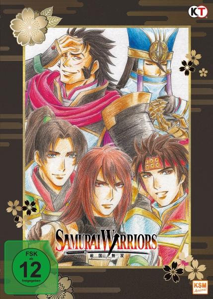 Samurai Warriors - Gesamtedtion: Episode 01-12 + Movie Special: Die Legende von Sanada (3 DVDs)