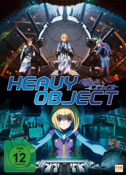 Heavy Object - Volume 1: Episode 01-06 (DVD)