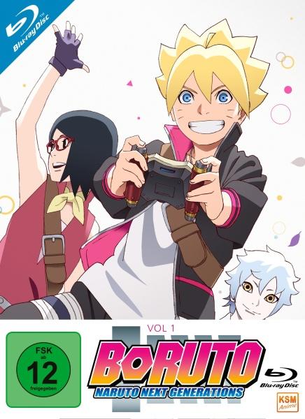Boruto - Naruto Next Generations - Volume 1: Episode 01-15 (2 Blu-rays)