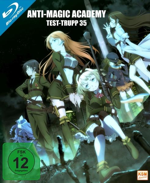 Anti Magic Academy - Test-Trupp 35 - Gesamtedition: Episode 01-12 (3 Blu-rays)