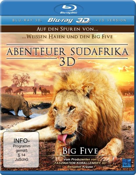 Abenteuer Südafrika 3D - Big Five Teil 2 (3D Blu-ray)