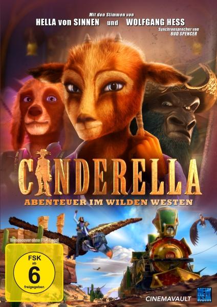Cinderella - Abenteuer im Wilden Westen (DVD)