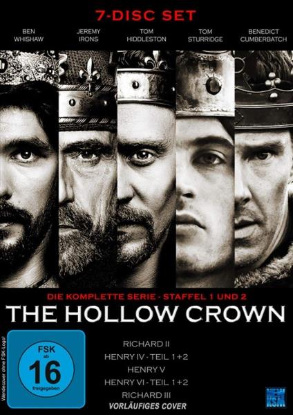 The Hollow Crown - Gesamtedition Staffel 1+2 (7 DVDs)