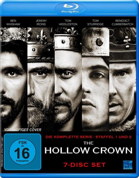 The Hollow Crown - Gesamtedition Staffel 1+2 (7 Blu-rays)