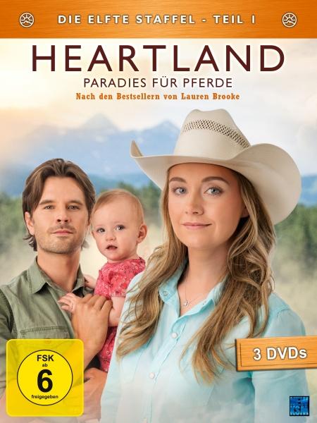 Heartland - Paradies für Pferde, Staffel 11.1 (3 DVDs)
