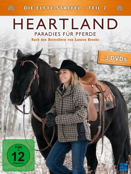 Heartland - Paradies für Pferde, Staffel 11.2 (3 DVDs)