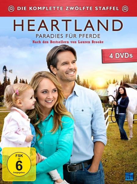 Heartland - Paradies für Pferde, Staffel 12 (4 DVDs)