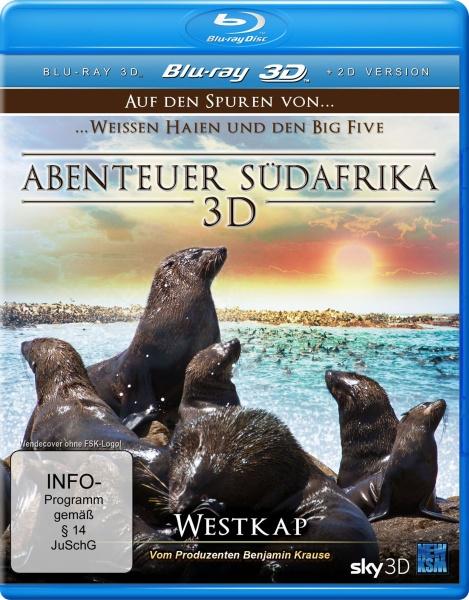 Abenteuer Südafrika - Westkap - Teil 3 (3D Blu-ray)