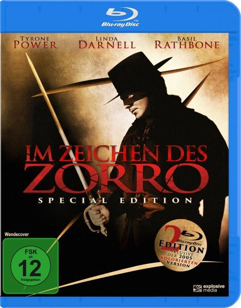 Im Zeichen des Zorro (The Mark of Zorro) (2 Blu-rays)