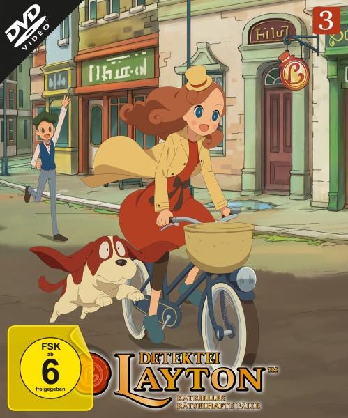 Detektei Layton - Katrielles rätselhafte Fälle: Volume 3 (Episode 21-30) (2 DVDs)