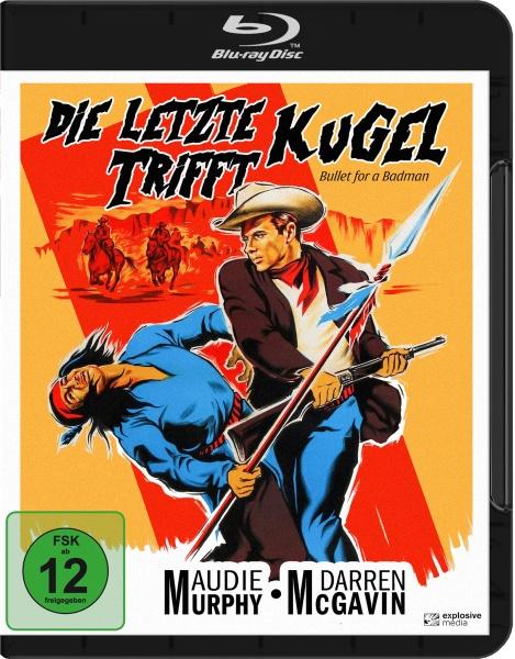 Die letzte Kugel trifft (Bullet for a Badman) (Blu-ray)