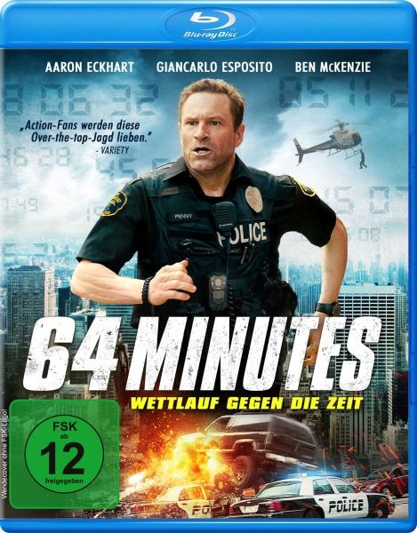 64 Minutes - Wettlauf gegen die Zeit (Blu-ray)