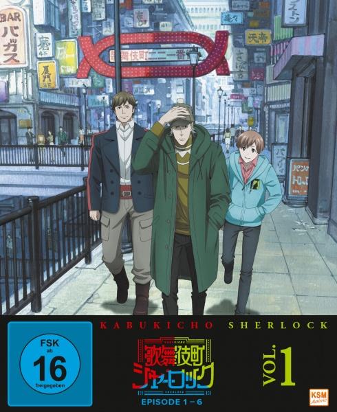 Kabukicho Sherlock - Volume 1 (Ep. 1-6) (DVD)