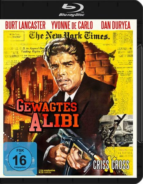 Gewagtes Alibi (Criss Cross) (Blu-ray)