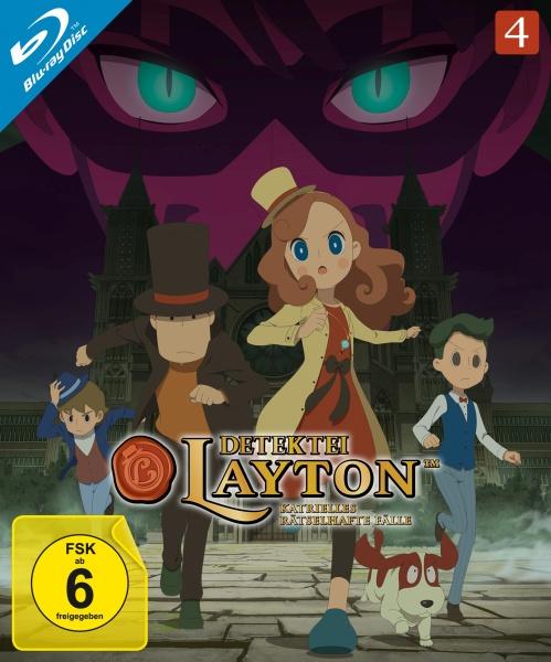 Detektei Layton - Katrielles rätselhafte Fälle: Volume 4 (2 Blu-rays)