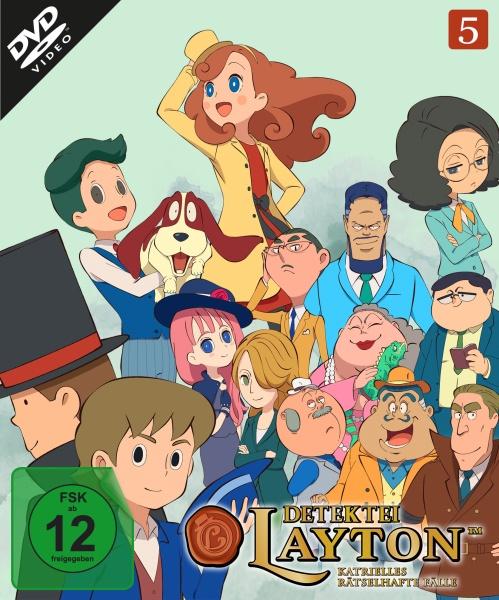Detektei Layton - Katrielles rätselhafte Fälle: Volume 5 (Ep. 41-50) (2 DVDs)