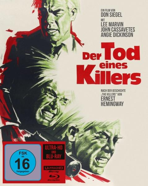 Der Tod eines Killers (Mediabook, UHD+Blu-ray)