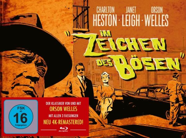 Im Zeichen des Bösen (Remastered) (Mediabook, 2 Blu-rays)