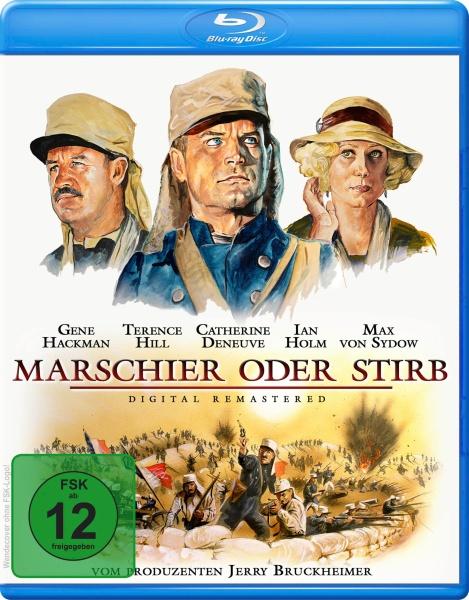 Marschier oder stirb (Blu-ray)