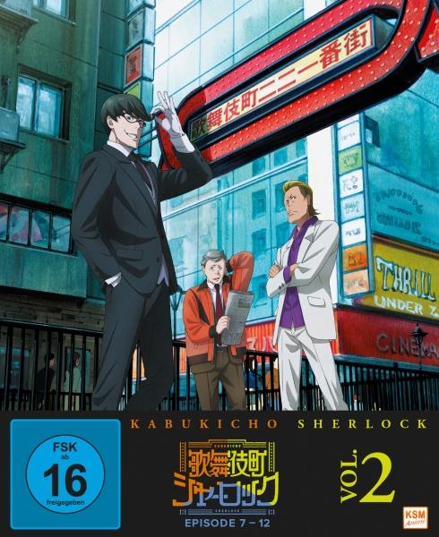 Kabukicho Sherlock - Volume 2 (Ep. 7-12) (Blu-ray)