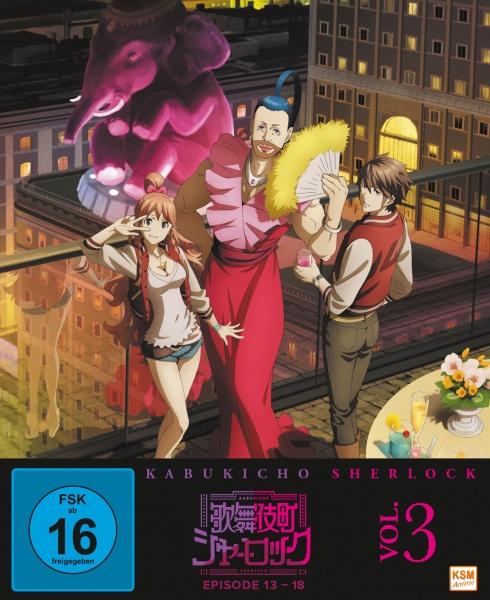 Kabukicho Sherlock - Volume 3 (Ep. 13-18) (Blu-ray)