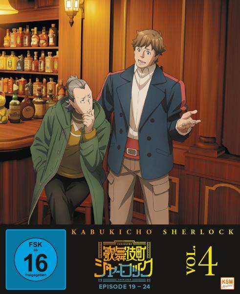 Kabukicho Sherlock - Volume 4 (Ep. 19-24) (Blu-ray)