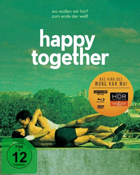 Happy Together (Wong Kar Wai) (Special Edition, 4K-UHD+Blu-ray+DVD)