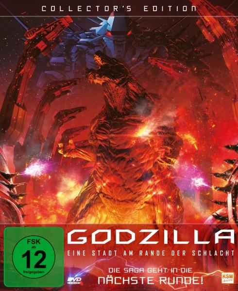 Godzilla: Eine Stadt am Rande der Schlacht - Collector's Edition (DVD)