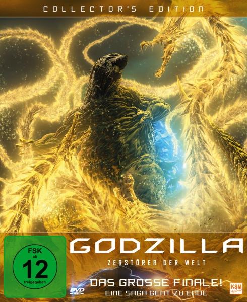 Godzilla: Zerstörer der Welt - Collector's Edition (DVD)