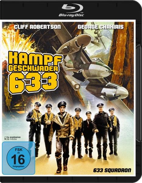 Kampfgeschwader 633 (633 Squadron) (Blu-ray)