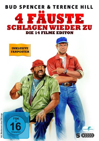 Bud Spencer & Terence Hill - 4 Fäuste schlagen wieder zu! (14 Filme Edition) (5 DVDs)
