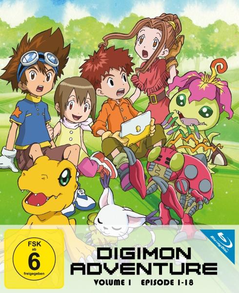 Digimon Adventure - Staffel 1.1 (Ep. 1-18) (2 Blu-rays)